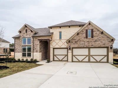 Boerne Single Family Home New: 118 Stablewood