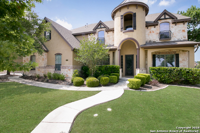 Boerne Single Family Home Price Change: 10403 Star Mica