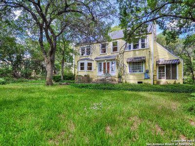 San Antonio Single Family Home New: 626 Terrell Rd