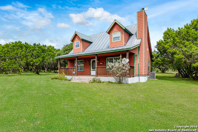 Helotes Single Family Home Price Change: 141 Medina Magic