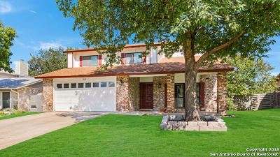 San Antonio Single Family Home New: 14111 Shire Oak St