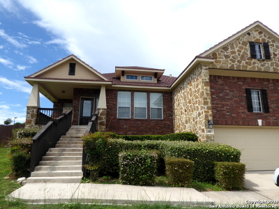 San Antonio Single Family Home New: 24807 Chianti Way