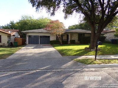 San Antonio Single Family Home New: 13902 Anchorage Hill