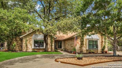 San Antonio Single Family Home New: 1506 Stag Pt