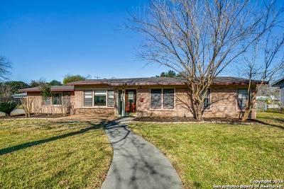 San Antonio Single Family Home New: 503 Woodcrest Dr