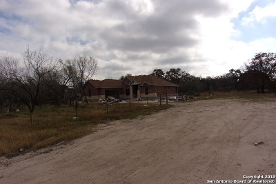 Atascosa County Single Family Home New: Lot 3 Fm 3175