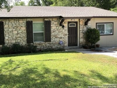 San Antonio Single Family Home New: 11914 El Sendero
