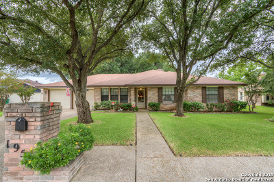 San Antonio Single Family Home New: 19511 Encino Spur St