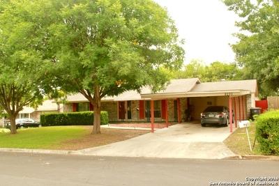 San Antonio Single Family Home New: 8235 Campobello Dr
