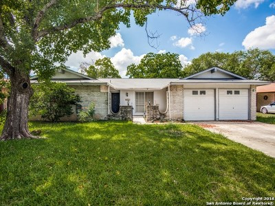Leon Valley Single Family Home For Sale: 6911 Sunlight Dr