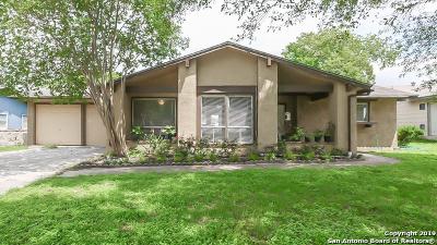 San Antonio Single Family Home New: 6819 Indian Lake Dr