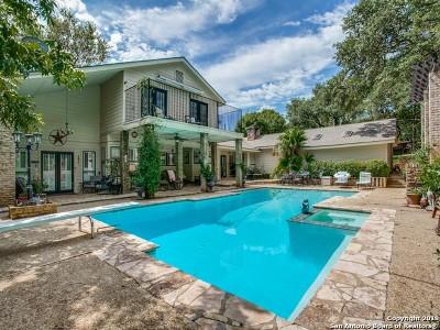 San Antonio Single Family Home New: 13911 Bluffoak