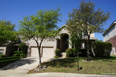 San Antonio Single Family Home New: 18639 Rogers Glen