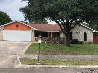 Leon Valley Single Family Home Active Option: 6315 Stirrup Ln