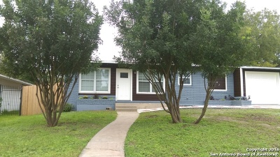 San Antonio Single Family Home New: 442 Saratoga Dr