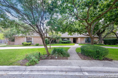 San Antonio Single Family Home New: 506 Woodway Forest Dr