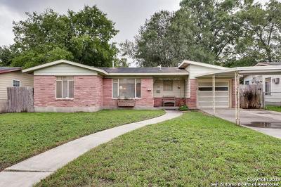 San Antonio TX Single Family Home New: $139,000