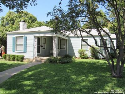 Alamo Heights Rental For Rent: 123 E Elmview Pl