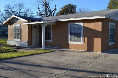 San Antonio Single Family Home New: 803 Delmar St