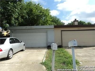San Antonio TX Single Family Home New: $59,000