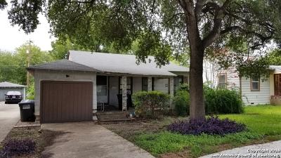 Bexar County Single Family Home New: 329 Haggin St