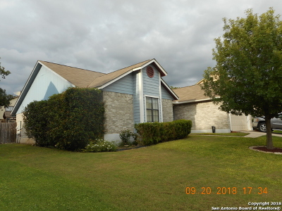 San Antonio Single Family Home New: 8831 Chilliwack Dr