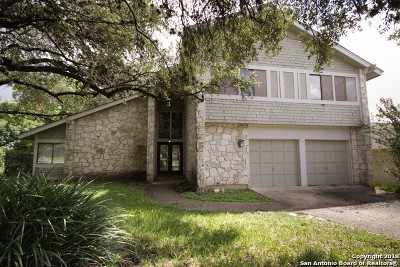 San Antonio Single Family Home New: 15206 Chalet Dr