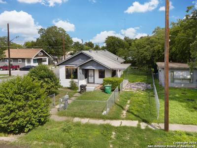 San Antonio Single Family Home New: 232 Saint Charles