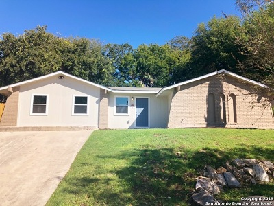 San Antonio Single Family Home New: 5115 Saint Nicholas St
