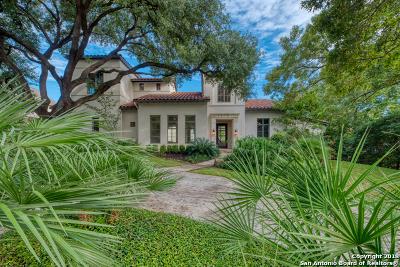 Terrell Hills TX Single Family Home New: $1,900,000