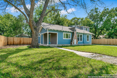 San Antonio Single Family Home New: 1122 Delaware St