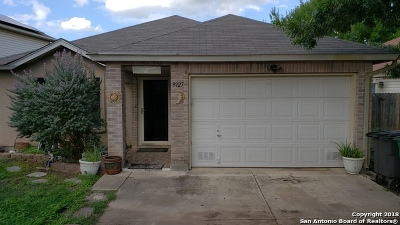 San Antonio Single Family Home New: 9927 Alexa Pl
