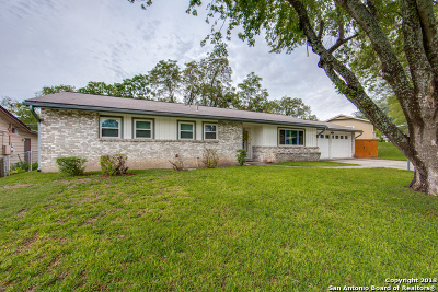 San Antonio Single Family Home New: 5610 Prentiss Dr
