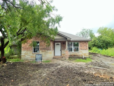 San Antonio Single Family Home New: 1722 Peck Ave