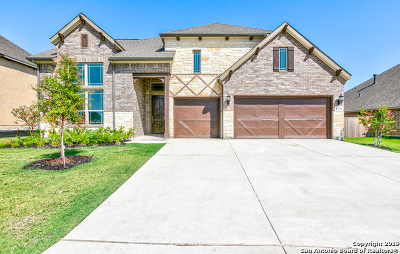 Cibolo, Schertz, Selma, Universal City Single Family Home For Sale: 13109 Hallies Haven