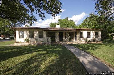 Bexar County Single Family Home Price Change: 2403 Blossom Dr.