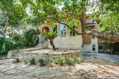 Alamo Heights Single Family Home For Sale: 729 Patterson Ave
