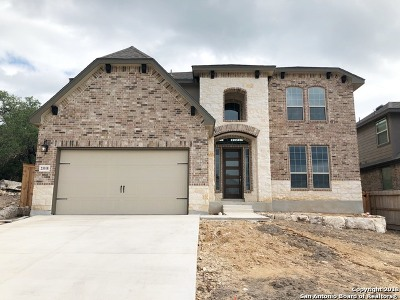 Bexar County Single Family Home Price Change: 23318 Emerald Pass