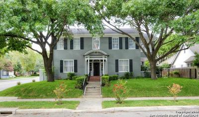 San Antonio Single Family Home For Sale: 343 W Gramercy Pl