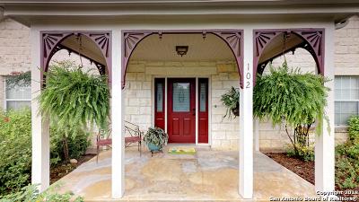 Boerne Single Family Home For Sale: 102 Park Pl