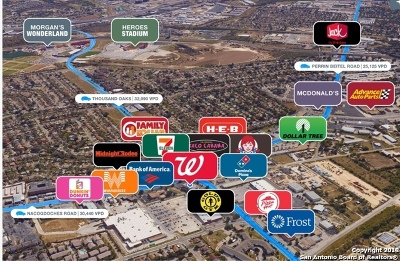 Bexar County Residential Lots & Land For Sale: 4500 Thousand Oaks Dr