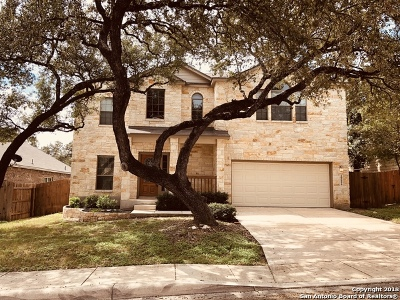 Helotes Single Family Home For Sale: 10606 Clover Canyon