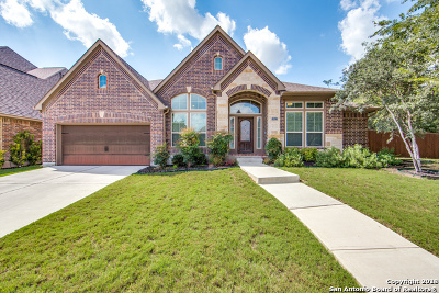 San Antonio Single Family Home For Sale: 13522 Palatine Hill