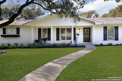 Hollywood Park Single Family Home For Sale: 119 Tall Oak Dr