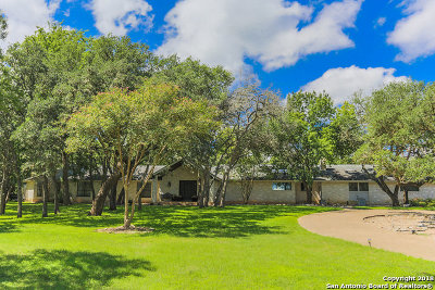 Boerne Single Family Home For Sale: 30019 Cantor Circle