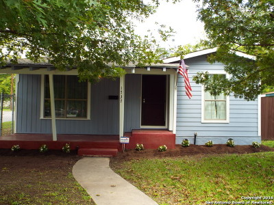 San Antonio Single Family Home Back on Market: 1737 San Angelo