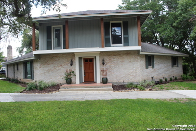 San Antonio Single Family Home For Sale: 203 Rockhill Dr