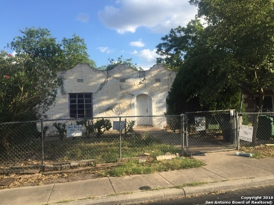 San Antonio Single Family Home Active Option: 918 W Hermosa Dr