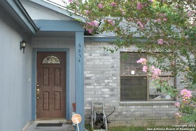 Converse Single Family Home Active Option: 6854 Eden Grove Dr