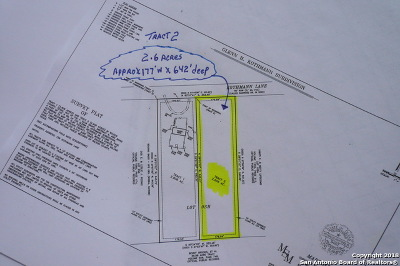 La Vernia Residential Lots & Land For Sale: 158 Kothmann Rd (2.6 Acres)